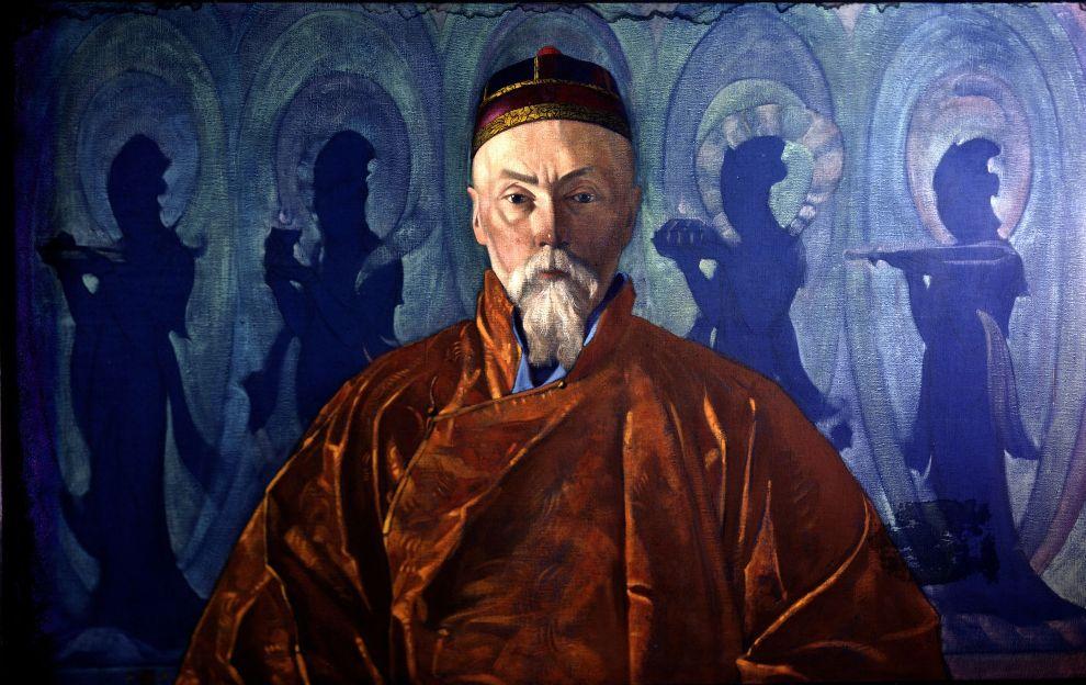 «Портрет Н.К.Рериха», С.Н.Рерих 1928г