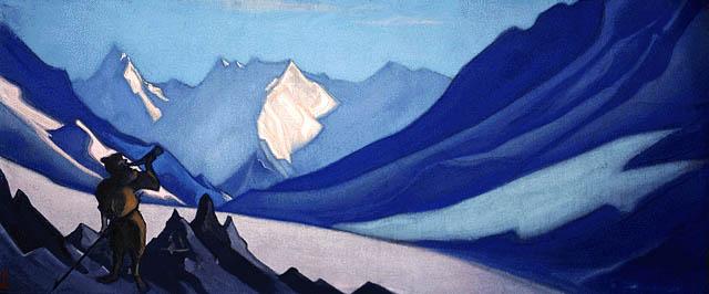 Н.К.Рерих. Зов. 1944