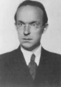 Рихард Рудзитис 1938 г. Фотография, посланная Е.И. Рерих