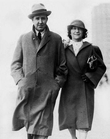 Зинаида Григорьевна с мужем Дадли (Дедлеем) Фосдиком. 1940–1950-е гг.
