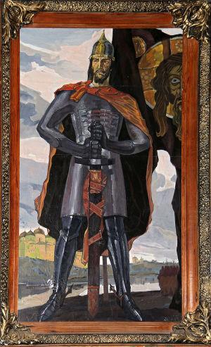 Картина в Марьино, усадьба Барятинских, Курская область