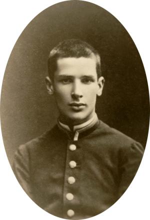 Ученик Виленской гимназии П. А. Столыпин. 1876 год