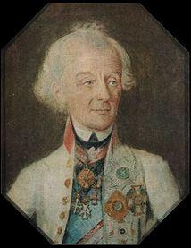 А.В.Суворов в 1800 году