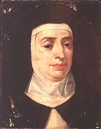 Святая Тереза. Неизвестный художник