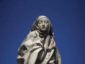 Франциск Мессина. Памятник Екатерине Сиенской