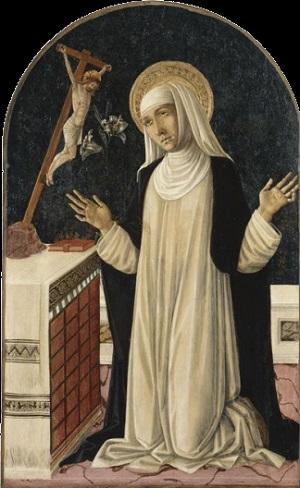 Giovanni di Bartolo. Молитвы Святой Екатерины Сиенской.