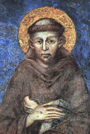 Чимабуе. Святой Франциск