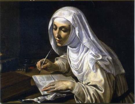Рутилио Манетти. Святая Екатерина за работой. (1347-1380)