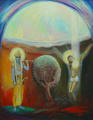 Греф Кафи. Кришна и Христос