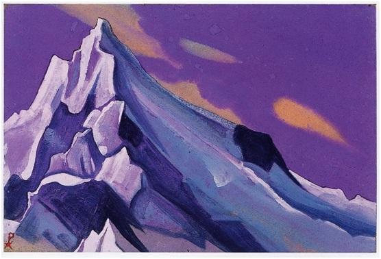 Н. К. Рерих. Гималаи. 1938