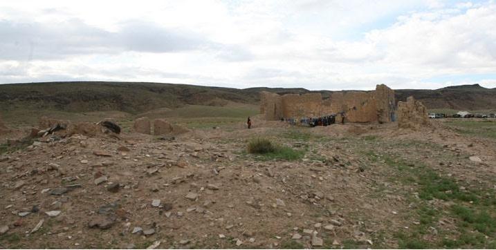 Руины монастыря Наропанчен, Монголия