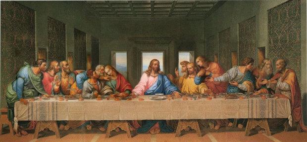 Леонардо да Винчи. Тайная вечеря. 1495–1498