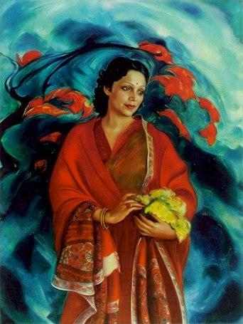 «Девика Рани Рерих». 1951.Государственный музей Востока