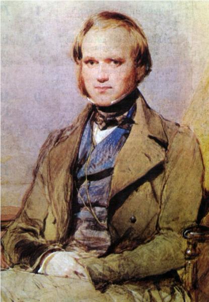 Чарльз Дарвин (примерно 1828 г.)