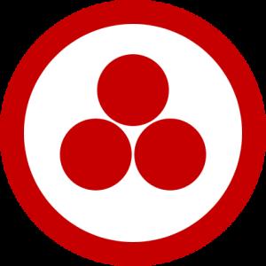 «Знамя мира» — отличительный флаг Пакта Рериха для обозначения памятников и учреждений
