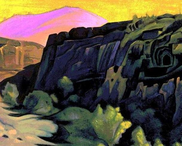 Аджанта Скальные храмы, 1938 г.