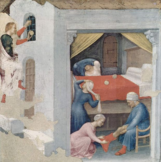 Приданое для трёх девиц (Джентиле да Фабриано, ок. 1425)
