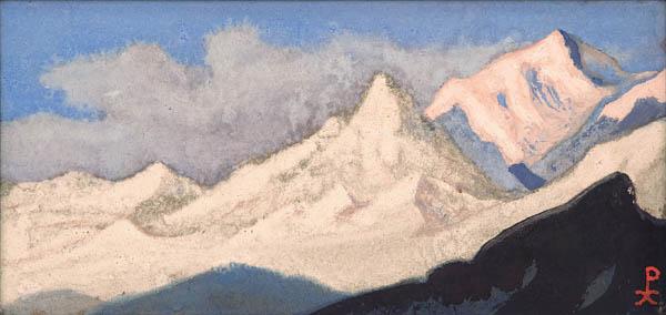 Н.К. Рерих. ГИМАЛАИ. 1944