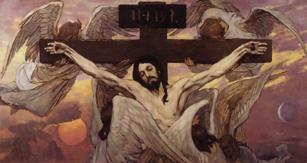 Распятие Христа. Васнецов