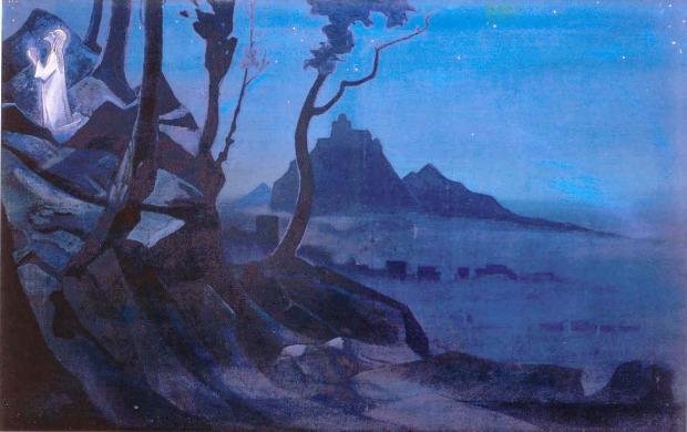 Н.К. Рерих. Чаша Христа. 1925