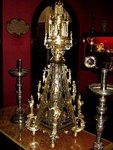 Реликварий с мощами Георгия Победоносца