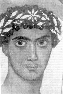 Юноша в золотом венке (из фаюмских портретов)