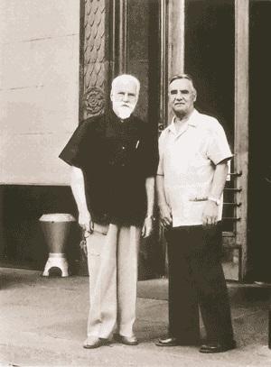 С.Н.Рерих и П.Ф.Беликов