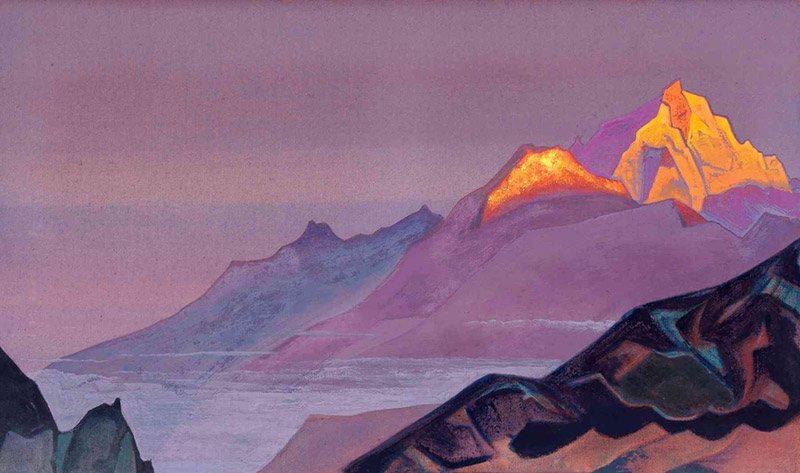 Н.К. Рерих. Путь в Шамбалу. 1933