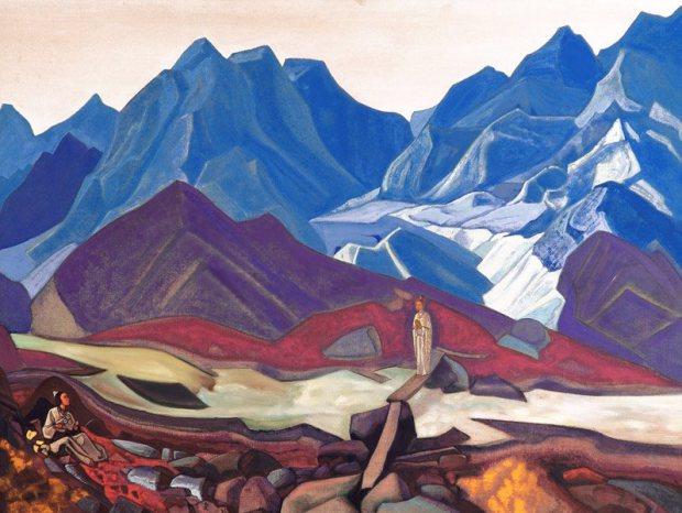 Н.К. Рерих. Оттуда. 1936