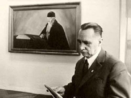 П. Ф. Беликов. Козе-Ууэмыйза. Июль 1975 г.