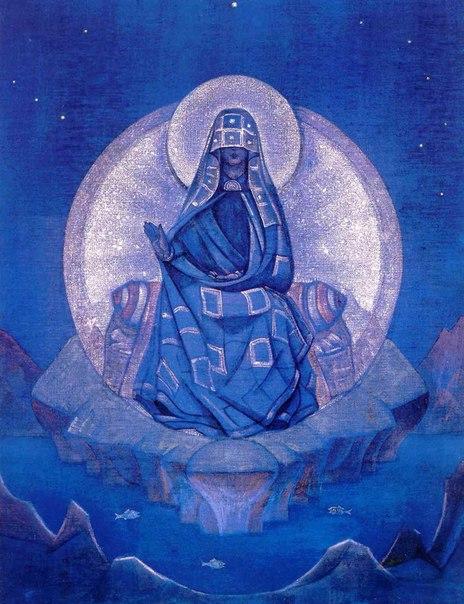 Картина Н.К.Рериха Матерь Мира 1924