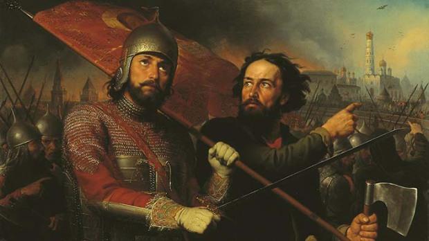 М.И. Скотти. Кузьма Минин и Дмитрий Пожарский 1850, Нижегородский художественный музей