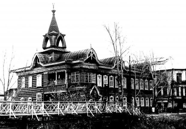Гостиница «Империал», где останавливались Рерихи в Барнауле