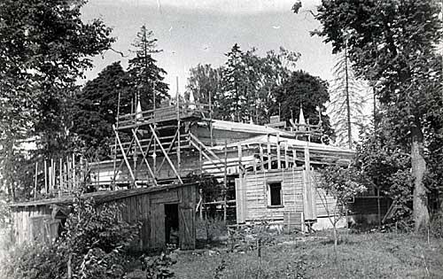 Работы по реставрации Музея-усадьбы. 1970-е гг.