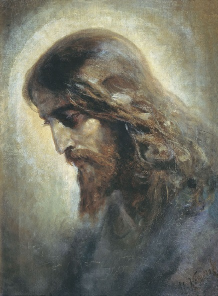 Голова Христа. Кошелев Николай Андреевич