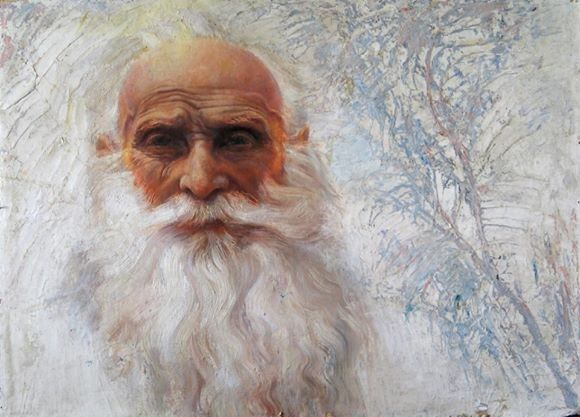 "Портрет Белого Учителя"". Маргарита Шувалова"