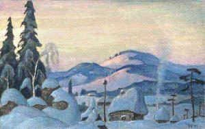 Снегурочка. Зима. 1955.