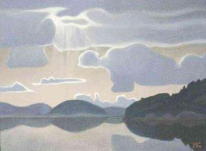 Облако над озером