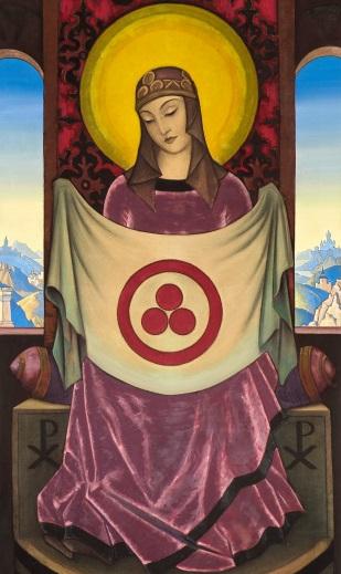 Н.К.Рерих. Мадонна Ориламма. 1932