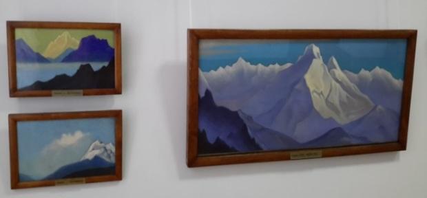 Произведения Н.К.Рериха в Новосибирском государственном художественном музее. Новосибирск