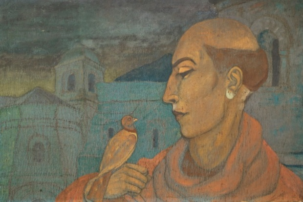 С.Н.Рерих. Святой Франциск Ассизский. 1923