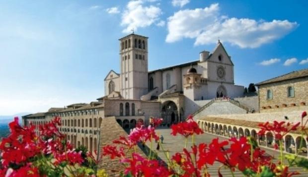 Собор Святого Франциска и монастырь Сакро Конвенто. Ассизи