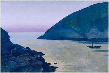 Н. К. Рерих. Монхеган. (Радость?). Сюита «Океан». 1922