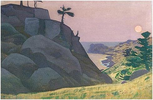 Н. К. Рерих. Монхеган. (Сказка?). Сюита «Океан». 1922