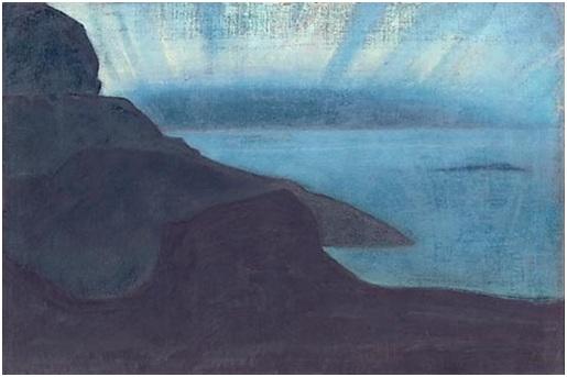 Н. К. Рерих. Монхеган. (Сияние ночи?). Сюита «Океан». 1922