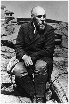Н. К. Рерих на Монхегане. 1922