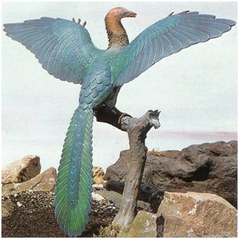 8. Археоптерикс, самая древняя из известных птиц; обитал 150–147 миллионов лет назад
