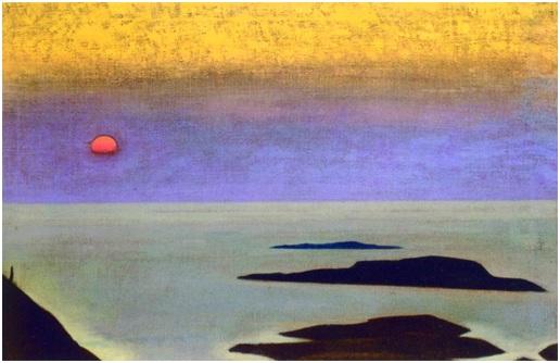 Н. К. Рерих. Монхеган. Сюита «Океан». 1922