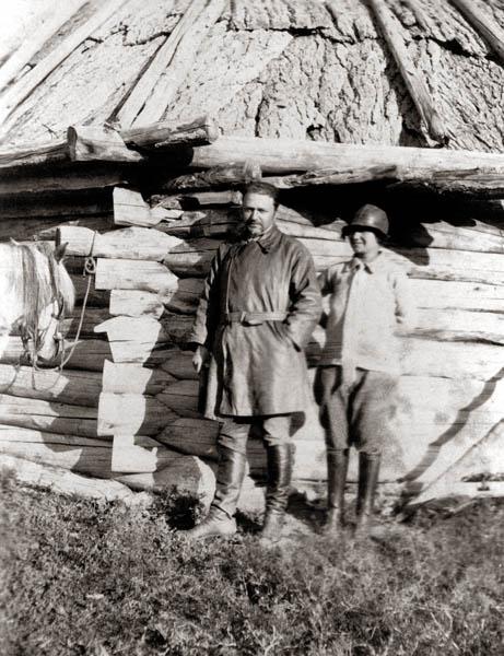 М.М. Лихтман, З.Г. Лихтман. Алтай, август 1926 г.