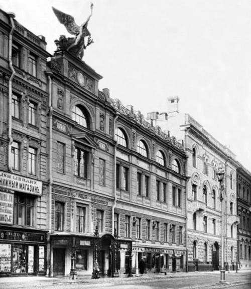 Здание школы Императорского Общества Поощрения Художеств, Санкт-Петербург